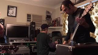 Raman, Greg and Ian jamming